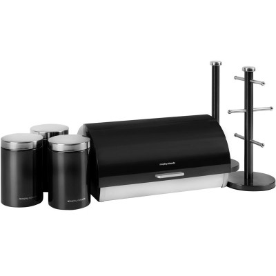 MORPHY ACCENTS 6PCE STORAGE SET BLACK