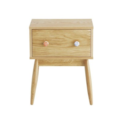 Habitat Oak Bedside Unit