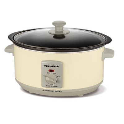 Morphy Richards 460002 Accents 3.5L Slow Cooker - Cream
