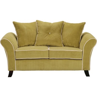 Collection Daisy Regular Sofa - Lime with Cream