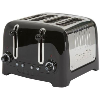 Dualit DPP4 Lite 4 Slice Toaster - Black