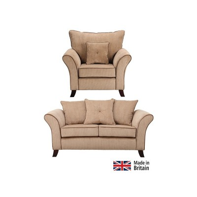 Collection Daisy Regular Sofa and Chair - Mink