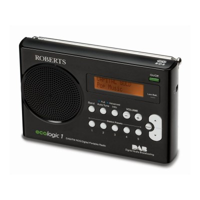 Roberts Ecological DAB Radio - Black