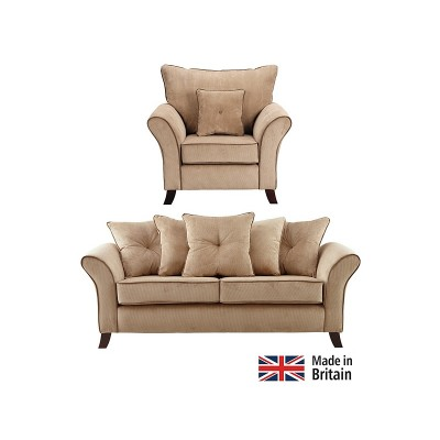 Collection Daisy Large Sofa and Chair - Mink