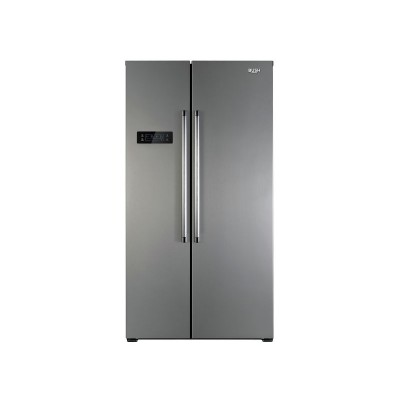 Bush BSBSFFSS Side by Side Fridge Freezer- S/Steel