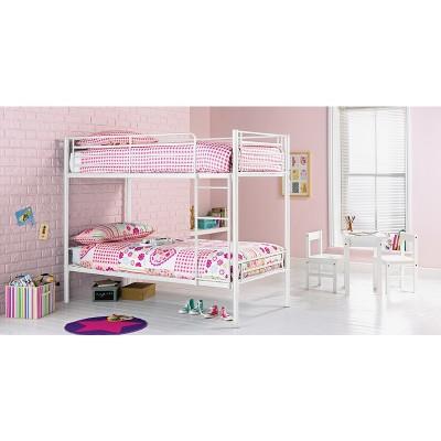 Argos Home Samuel White Shorty Bunk Bed Frame