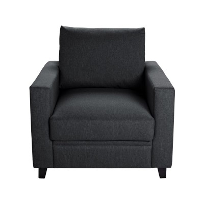 Hygena Seattle Chair with Storage - Charcoal.