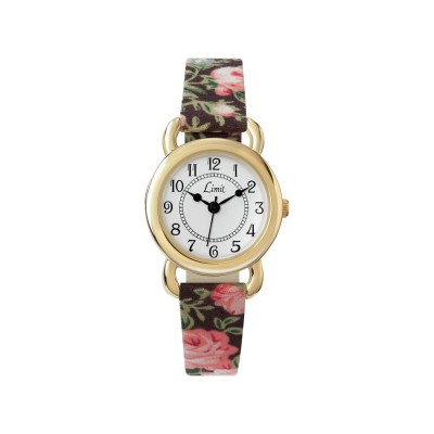 Limit Ladies' Floral Strap Watch