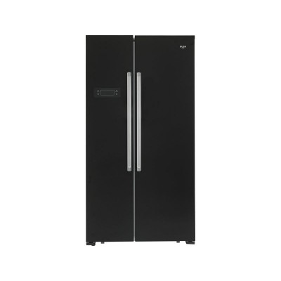 Bush BSBSFFB Side By Side Fridge Freezer- Black