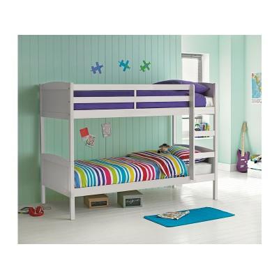 Argos Home Detachable White Bunk Bed Frame