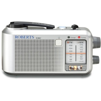 Roberts Wanderer Radio - Silver