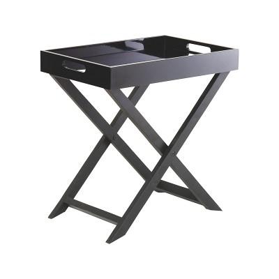 Habitat Oken Small Occasional Table - Black