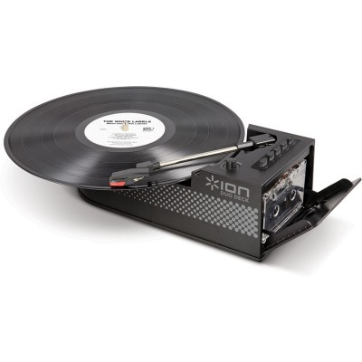 ION DuoDeck Vinyl and Cassette to MP3 Media Converter