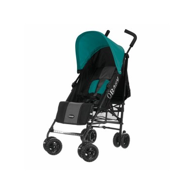 Obaby Atlas Black and Grey Stroller - Turquoise