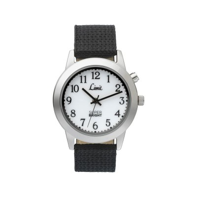 Limit Men's Black Strap Superbright Watch