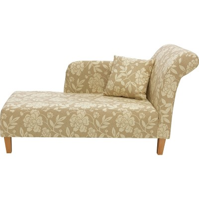 HME FLORAL CHAISE NATURAL