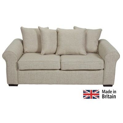 Collection Erinne Fabric Pillowback Sofa Bed - Linen