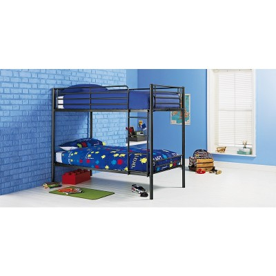 Argos Home Samuel Black Single Bunk Bed Frame
