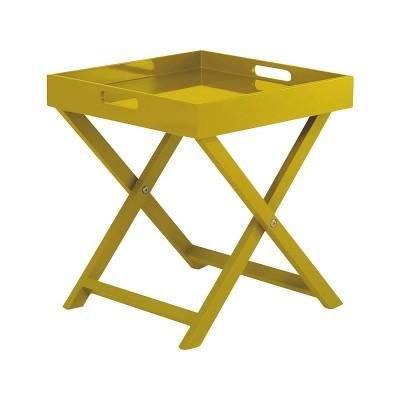 Habitat Oken Small Occasional Table - Yellow