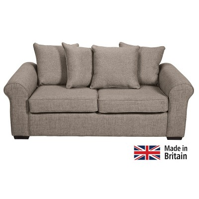 Collection Erinne Fabric Pillowback Sofa Bed - Grey