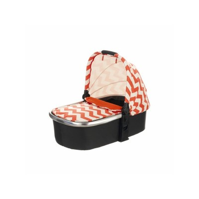 OBABY CHASE CARRYCOT  ZIGZAG ORANGE