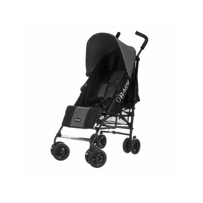Obaby Atlas Black and Grey Stroller - Grey