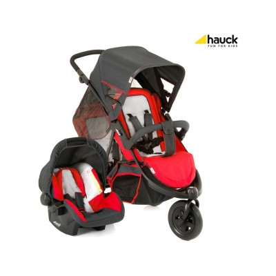 Freerider Shop'N'Drive Travel System - Red