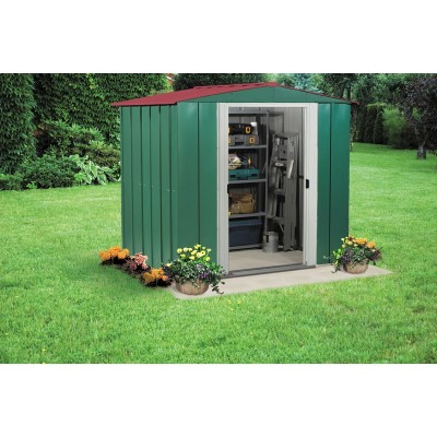 ARROW 6X5 METAL APEX SHED DO
