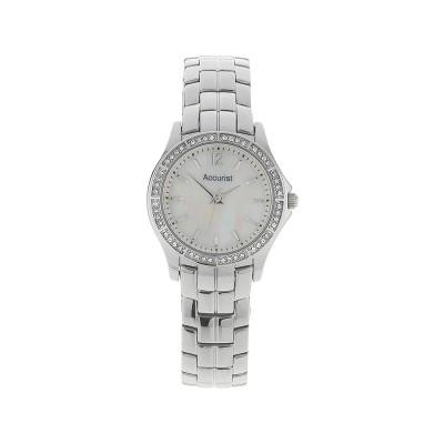 Accurist Ladies' Stone Set Stainless Steel Bracelet Watch