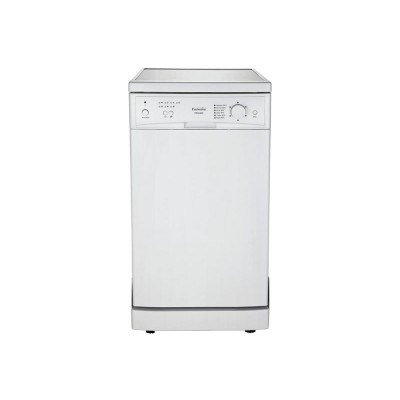 ProAction PRSL96W Slimline Dishwasher - White