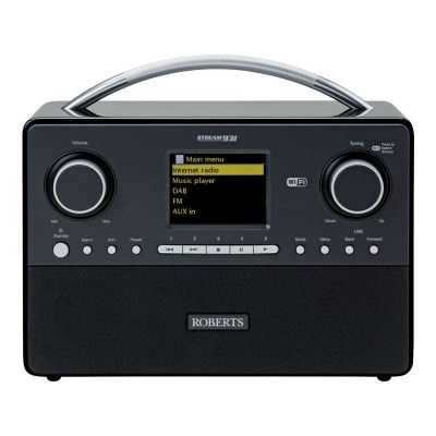 Roberts Stream93i DAB Radio - Black