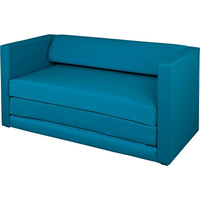 HOME Polly Fabric Sofa Bed - Teal