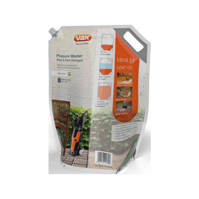 Vax Patio and Deck Pressure Washer Detergent