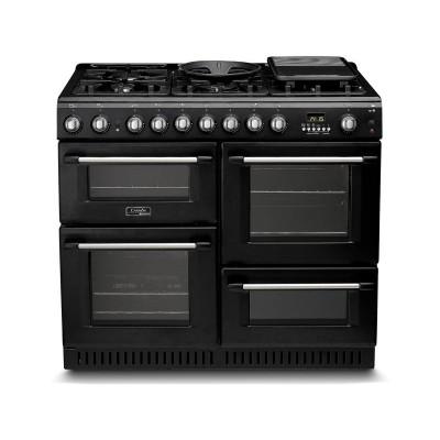 Hotpoint CH10456GF S 100cm Dual Fuel Range Cooker - Black