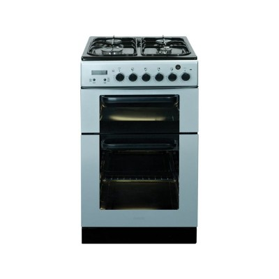 Baumatic BCG520SL Single Gas Cooker - Silver