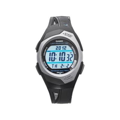 Casio Black Resin Strap 60 Lap illuminator Watch