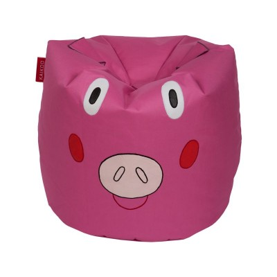 Farmyard Friends Pig Beanbag - Pink