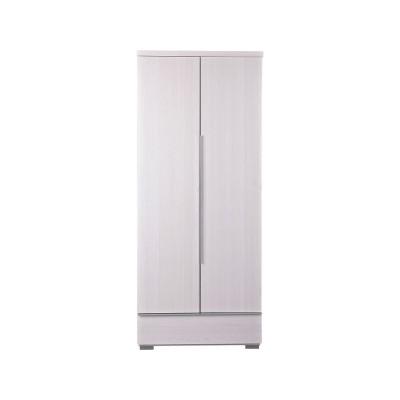LINEAR 2 DOOR 1 DRW ROBE WHITE