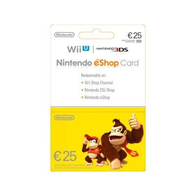 NINTENDO E-SHOP CARD 25 EURO POSA