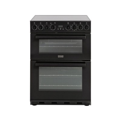 Stoves SEI60MFD Black Double Electrictric Cooker -Instal/Del/Rec