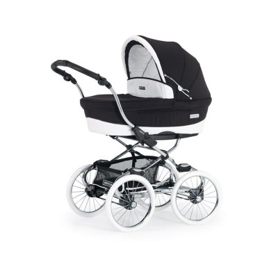 Bebecar Stylo Class Combination Pushchair - Black Magic
