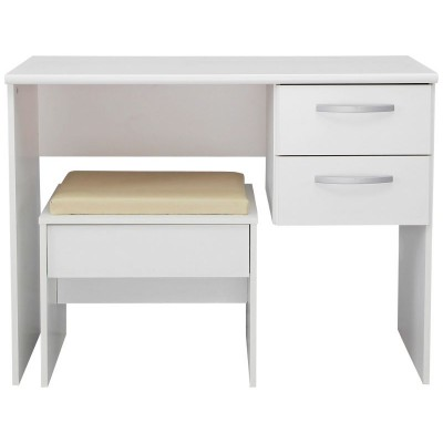 New Hallingford Dressing Table And Stool - White.