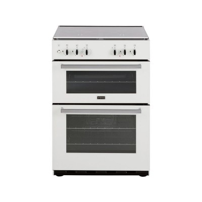 Stoves SDF60DO Double Dual Fuel Cooker - White