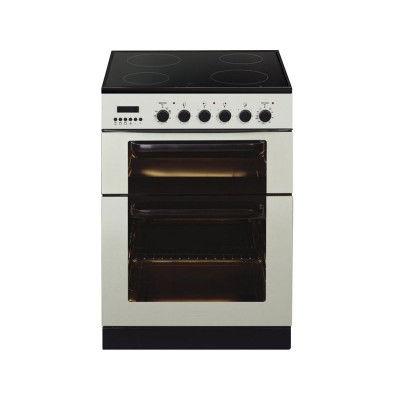 Baumatic BCE625 Double Electric Cooker - Ivory