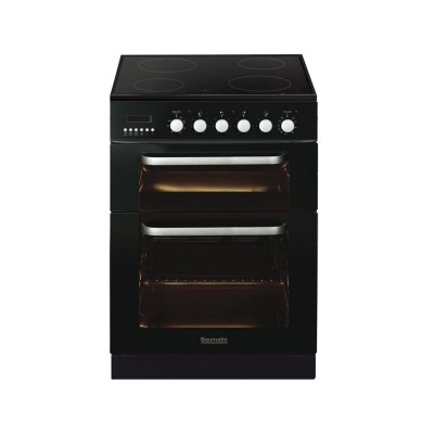 Baumatic BCE625 Double Electric Cooker - Black