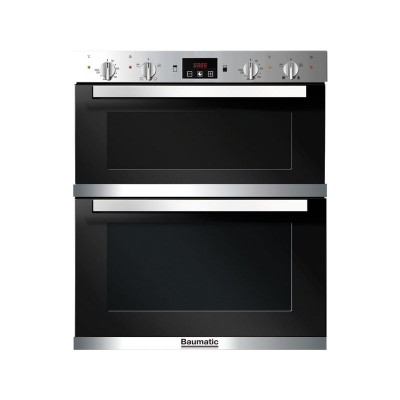 Baumatic BO796.5 Double Electric Oven - Stainless Steel