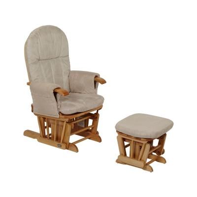 Tutti Bambini Daisy Glider Chair - Natural