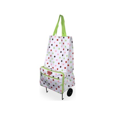 Sabichi Candy Spot Shopping Bag with Wheels