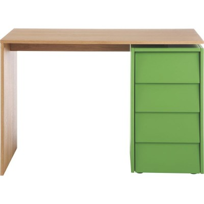 HAB DARTINGTON. DESK AND STORAGE GREEN