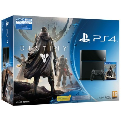 Playstation 4 With Destiny Hard Bundle